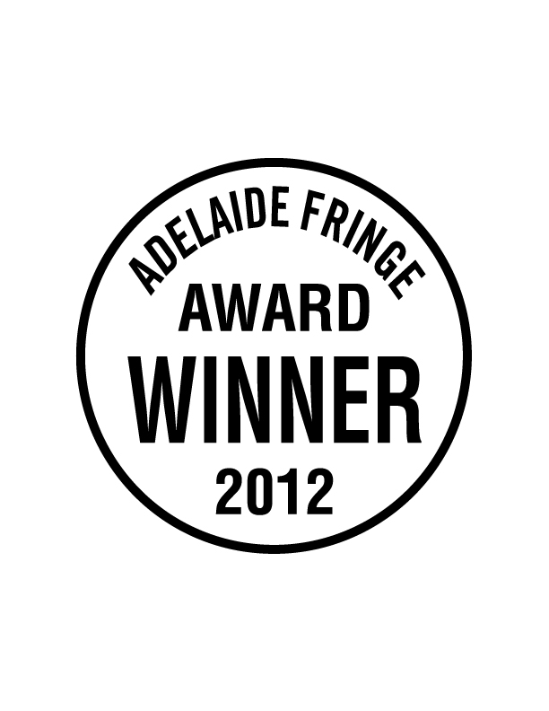 Adelaide Fringe Award 2012 Seal